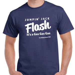 Jumpin Jack Flash Lt - T-Shirt Rolling Stones-0