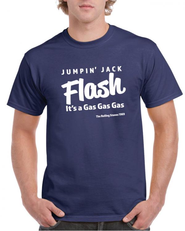 Jumpin Jack Flash Lt – T-Shirt Rolling Stones