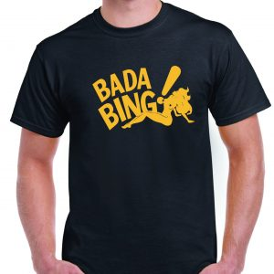 The Sopranos Badabing T Shirt-0