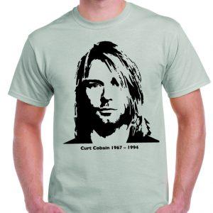 Kurt Cobain Classic Pose T Shirt-0