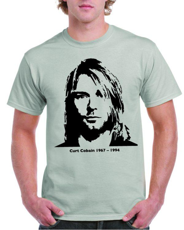 Kurt Cobain Classic Pose T Shirt