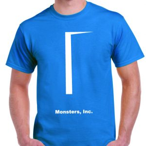 Monsters Inc T Shirt-0