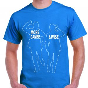 Morecombe & Wise Classic TV pose T Shirt-0