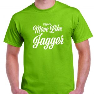 I used to Move Like Jagger - Rolling Stones T Shirt-0