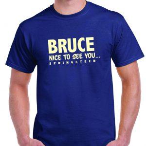 Bruce Forsyth/Springsteen T Shirt-0