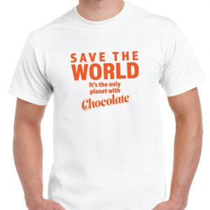 Save The World T Shirt-0
