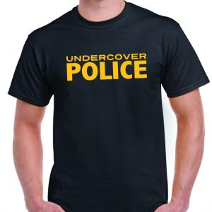 Undercover Police Funny T Shirt-0