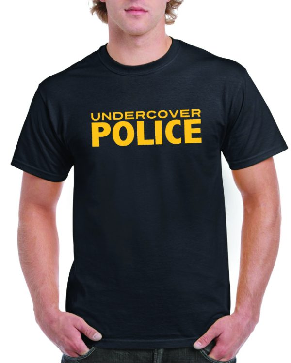 Undercover Police Funny T Shirt