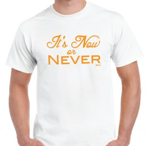 Elvis Presley - It's Now or Never - Lyrics T Shirt-0