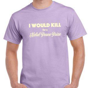 Nobel Peace Prize T Shirt-0