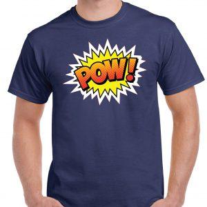 POW Retro T Shirt-0