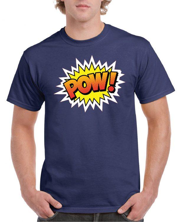 POW Retro T Shirt