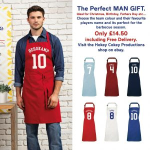Football Player Apron Personalised-0