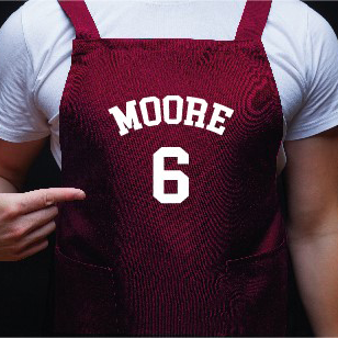 Football Player Apron Personalised