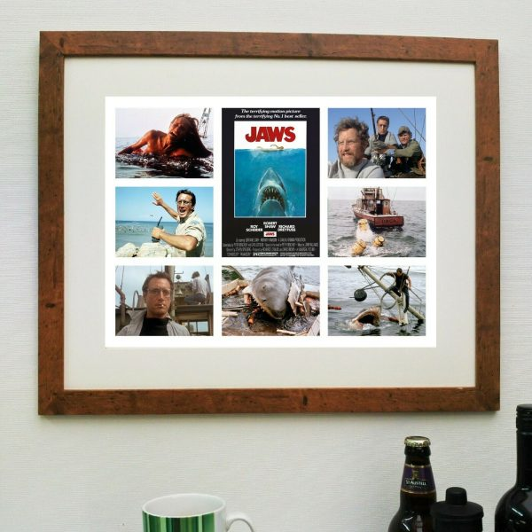 Jaws Film Scene'it Poster