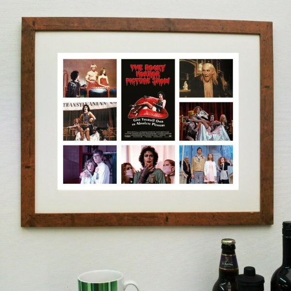 The Rocky Horror Picture Show Film Scene'it Poster