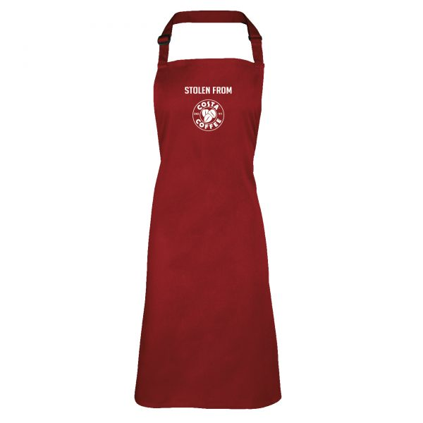 Costa Coffee inspired Apron INCLUDING FREE DELIVERY