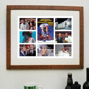 James Bond - Diamonds are Forever - Movie Scene'it Poster including Free Delivery-0