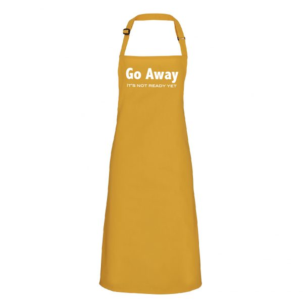 """Go Away"" funny Apron For that perfect gift INCLUDING FREE DELIVERY"