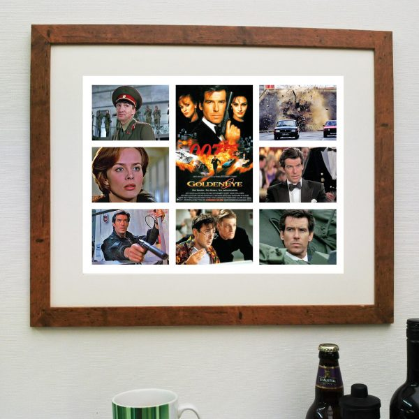 James Bond Goldeneye Movie Scene'it Poster