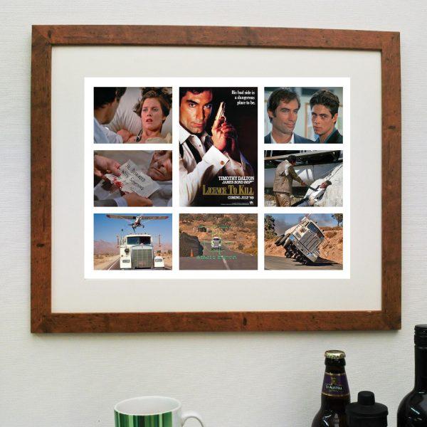 James Bond – A License to Kill – Scene'it Movie Poster