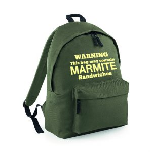 Marmite Rucksack INCLUDING FREE DELIVERY-4542