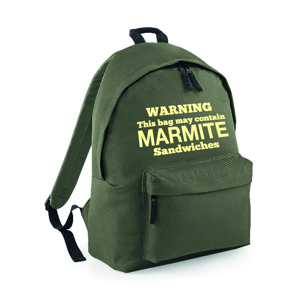 Marmite Rucksack INCLUDING FREE DELIVERY