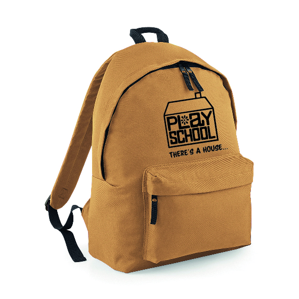 Playschool logo  Backpack Rucksack INCLUDING FREE DELIVERY