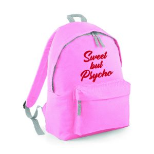 Sweet but Psycho Rucksack Backpack INCLUDING FREE DELIVERY-0