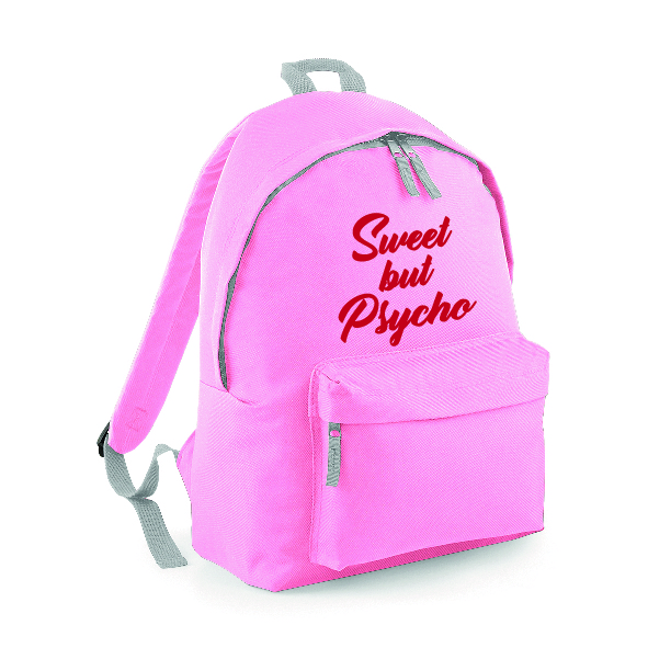 Sweet but Psycho Rucksack Backpack INCLUDING FREE DELIVERY