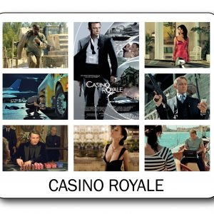 007 James Bond - Casino Royale Mousemat-0