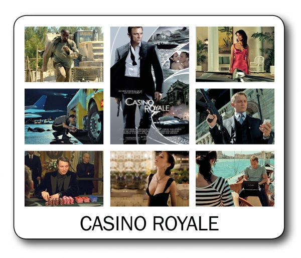 007 James Bond – Casino Royale Mousemat