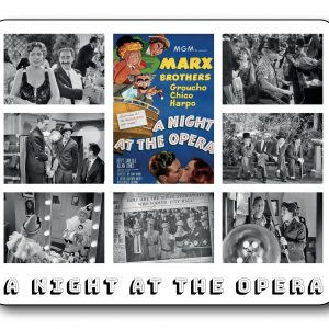 A Night at the Opera - The Marx Brothers Fantastic Film Scene Mousemat INCLUDING FREE DELIVERY-0