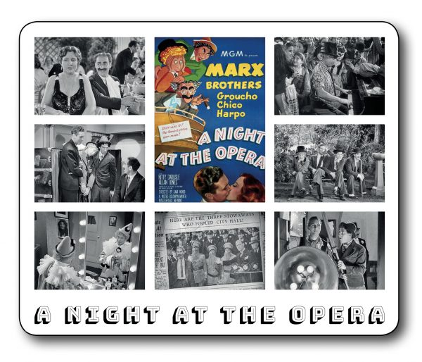 A Night at the Opera – The Marx Brothers Fantastic Film Scene Mousemat INCLUDING FREE DELIVERY