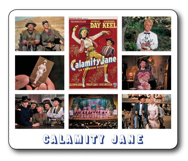 Calamity Jane Fantastic Movie Scene Mousemat INCLUDING FREE DELIVERY
