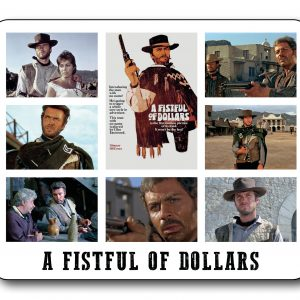 A Fistful of Dollars Mousemat-0
