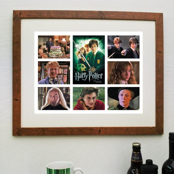 Harry Potter Chamber of Secrets. Scene'it Movie Poster