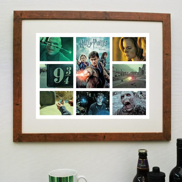 Harry Potter Deathly Hallows 2. Scene'it Movie Poster