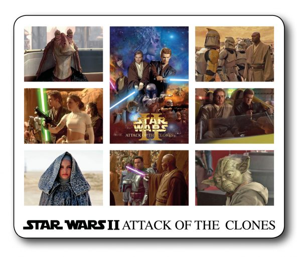 Star Wars Attack of the Clones  Fantastic Movie Scene Mousemat