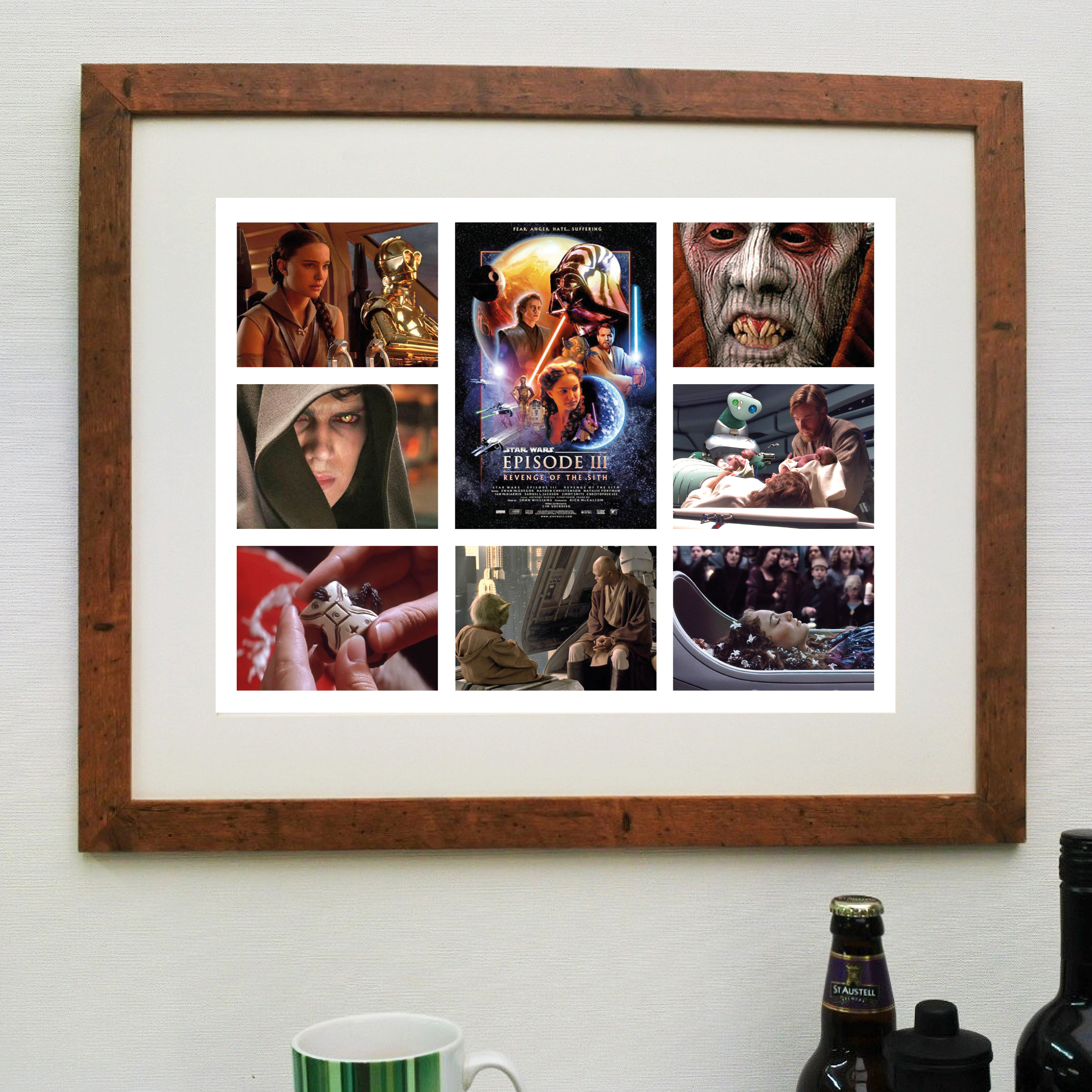 Star Wars Revenge Of The Sith Scene It Movie Poster Hokey Cokey