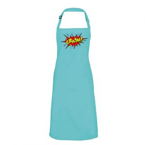 Crash - Retro style logo Apron INCLUDING FREE DELIVERY-0