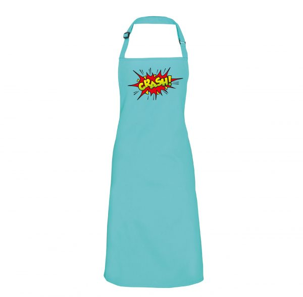 Crash – Retro style logo Apron INCLUDING FREE DELIVERY