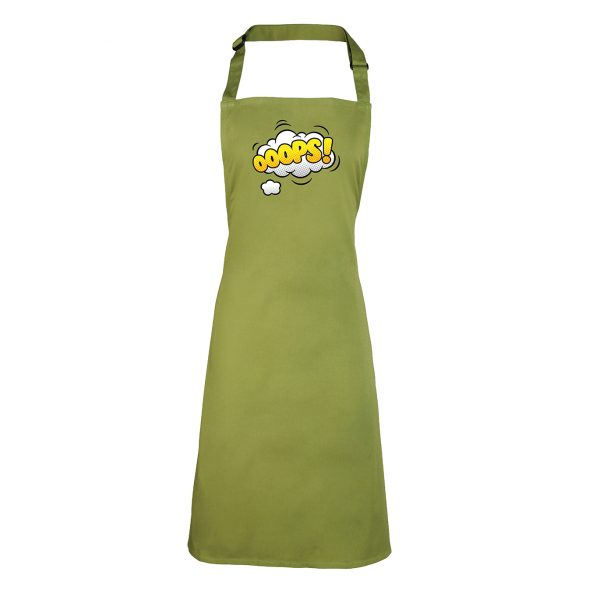 Oops… retro style Apron – Ideal for that Gift. INCLUDING FREE DELIVERY