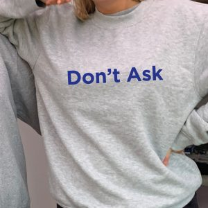 Don't Ask - Beautiful superior quality O'l Faithful Grey Sweatshirt including Free Delivery-0