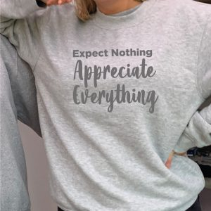 Expect Nothing - Beautiful superior quality O'l Faithful Grey Sweatshirt including Free Delivery-0
