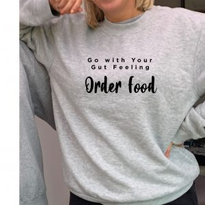 Order Food - Beautiful superior quality O'l Faithful Grey Sweatshirt including Free Delivery-0