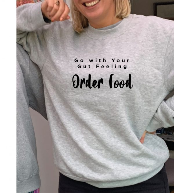 Order Food –  Beautiful superior quality O'l Faithful Grey Sweatshirt including Free Delivery