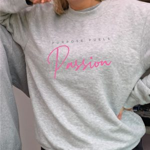 Purpose Fuels Passion - Beautiful superior quality O'l Faithful Grey Sweatshirt including Free Delivery-0