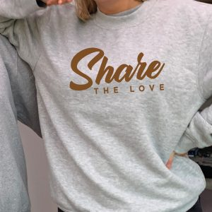 Share the Love - Beautiful superior quality O'l Faithful Grey Sweatshirt including Free Delivery-0