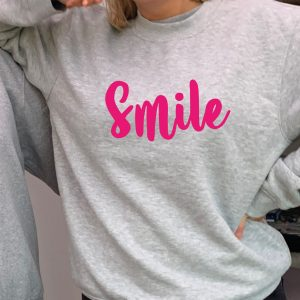 Smile - Beautiful superior quality O'l Faithful Grey Sweatshirt including Free Delivery-0